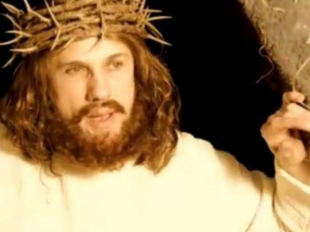 Vídeo de Jesus Cristo 'descrucificado'