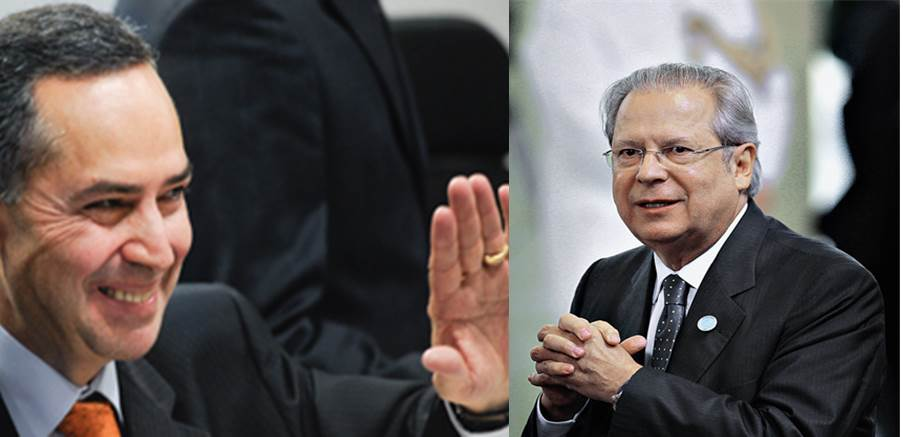 O ministro do zé dirceu