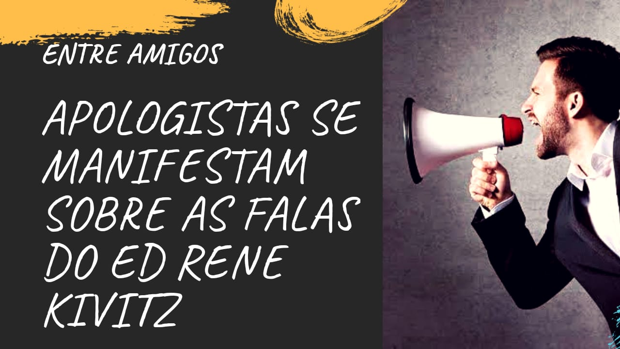 Apologistas se manifestam sobre as falas de Kivitz